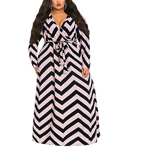 avec Grande Longue Taille Femme Ray As Shown Robe Ceinture Manches Qangareee q6O0pw7A