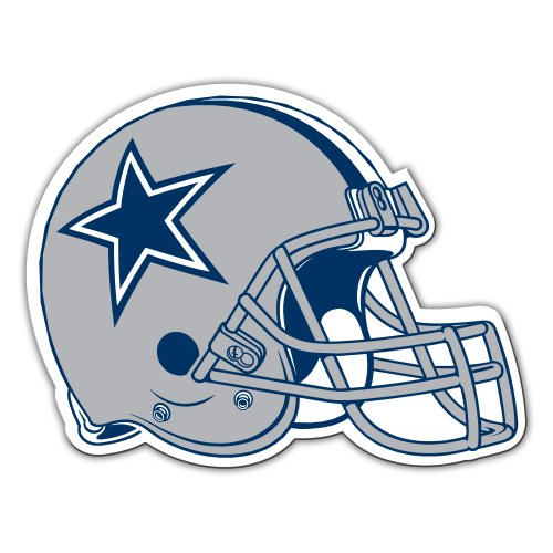 Cowboys Magnets Dallas (NFL Dallas Cowboys 12-Inch Vinyl Helmet Magnet)