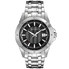 Bulova Men's 96B169 Classic round bracelet Watch