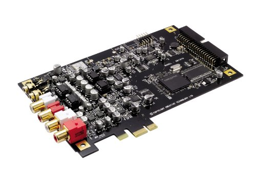 Creative Labs Sound Blaster X-Fi Titanium HD 24-bit 96 kHz Sound Card