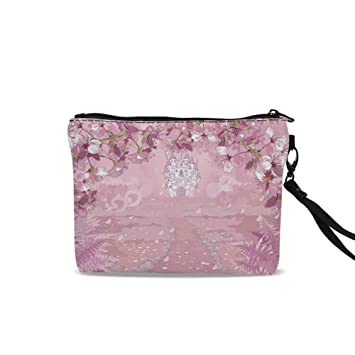 52a9559d6d67 Amazon.com : Fantasy Travel Toiletry Bag, Fairy Medieval Castle ...