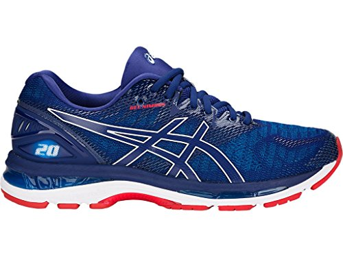 ASICS Gel-Nimbus 20 Men's Running Shoe, Blue Print/Race Blue, 10.5 D(M) US