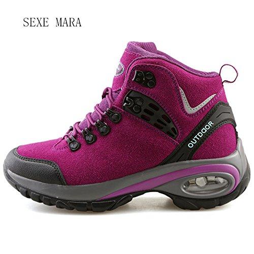 Trotar cojín mujer zapatos para mujer B al Caminar Deporte zapatillas de atléticos de nueva Arena aire zapatillas Zapatillas aire entrenadores libre T0A7q6