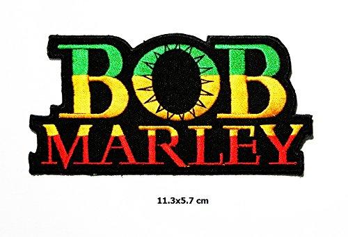3ae8be9cc2b Bob Marley Music Reggae Ska Patch Metal Punk Hip Hop Band Logo Vest Ja