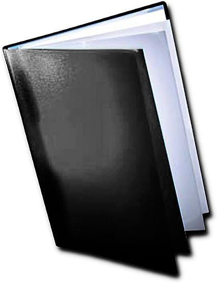 Dekko - Carpeta con fundas para documentos (A3), color negro: Amazon.es: Oficina y papelería