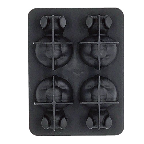 - Panda Large Silicone Ice Cube Trays - Ideal for Whiskey, Cocktails, Soups, Baby Food and Frozen Treats - Flexible and BPA Free