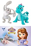 Sofia the First: Once Upon a Princess movie DVD & Disney Sofia the First Animal Friends (2-Pack) Cartoon TV Show Clover & Crackle movie Set