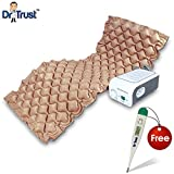 Dr. Trust Air Mattress Anti Decubitus Air Pump & Bubble Mattress For Prevention Of Bed Sores (Beige)
