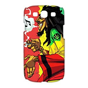 CTSLR Music & Singer Series Protective Snap-on Hard Back Case Cover for Samsung Galaxy S3 I9300 - 1 Pack - Bob Marley & Rasta, Reggae - 13 by runtopwell