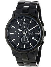 Men's KC9226 Black Stainless Steel Bracelet Watch