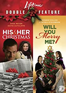 Lifetime Double Feature: His & Her Christmas/ Will You Merry Me?  [DVD]