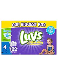 Luvs Diapers sz 4, 192 ct BOBEBE Online Baby Store From New York to Miami and Los Angeles