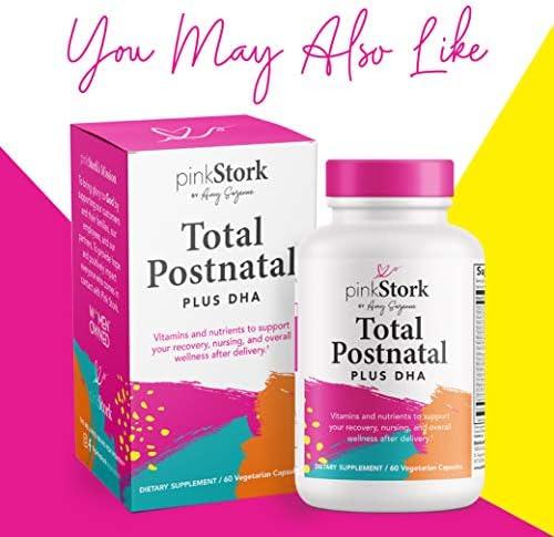 51vMaAo3R3L. AC - Pink Stork Nipple Cream: 100% Organic Breastfeeding Essentials With Jojoba Oil, Coconut Oil, Shea Butter, Lanolin Free, Heals Cracks + Pains, Women-Owned, 1 Oz