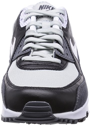 Nike Air Max 90 Essential Mens Trainers Black (Grey Mist/White/Black Dark Grey 037) kQ1di29Y