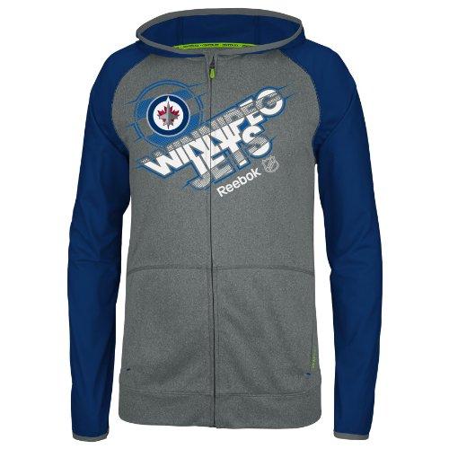 Winnipeg Jets Center Ice Travel N' Training Full Zip Jacket - Size X-Large