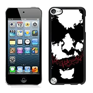 Newest And Fashionable iPod Touch 5 Case Designed With Joker Drawing Emotion Dark Humor Black iPod Touch 5 Screen Cover High Quality Cover Case