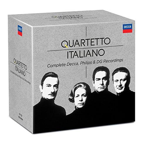 Quartetto Italiano - Complete Philips & Decca Recordings [37 CD][Limited Edition] (Best Service Complete Orchestral Collection)