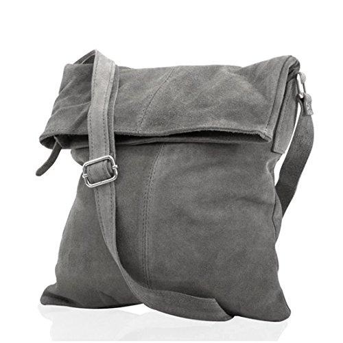 Messenger Cuir bandoulière mod daim gris fonce p fashion sac à formel 2030 Sq6THT