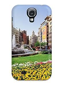 6537364K71414992 Premium Plaza Del Ayuntamiento Spain Heavy-duty Protection Case For Galaxy S4