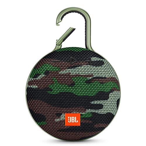 JBL Clip 3 Waterproof Portable Bluetooth Speaker - Camo