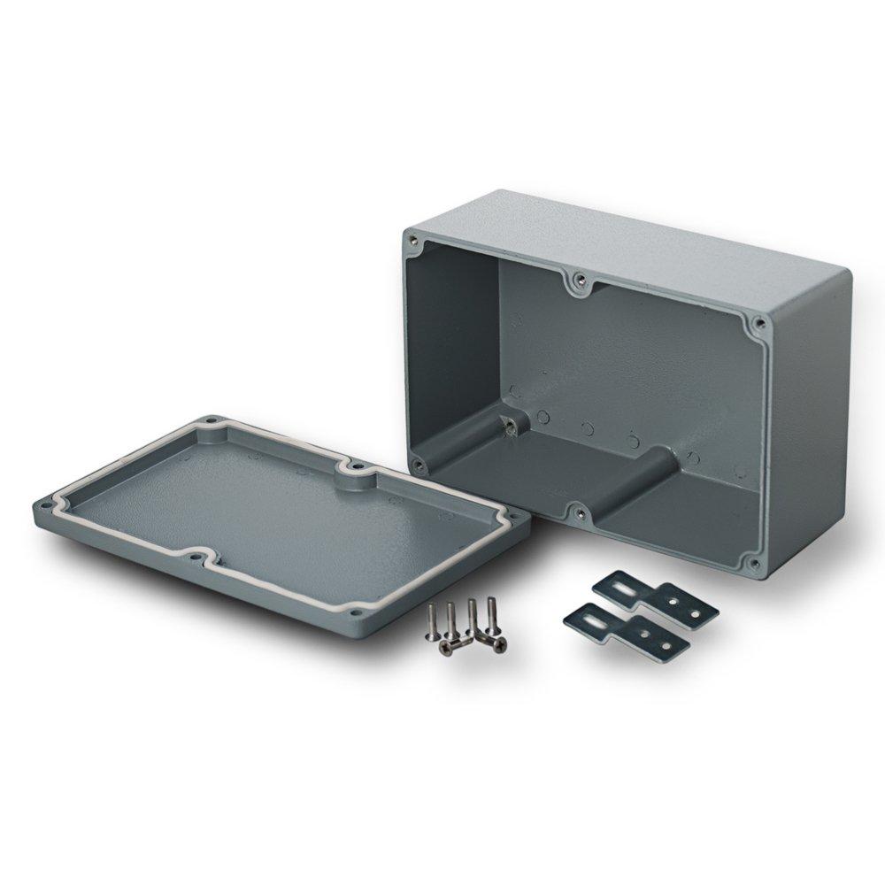 edi-tronic Aluminium Leergeh/äuse 111x64x37mm Industriegeh/äuse IP66 Geh/äuse Box Kasten Dicht