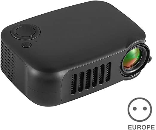 ECOSWAY Mini Proyector, Portátil Full HD 1080P Proyector LED, para ...
