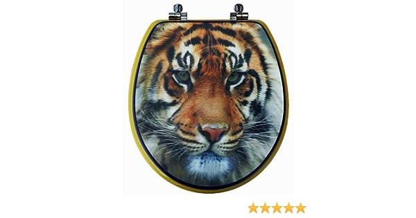 Tiger Toilet Accessoires : Toilettendeckel wc deckel wc sitz tiger paar amazon baumarkt