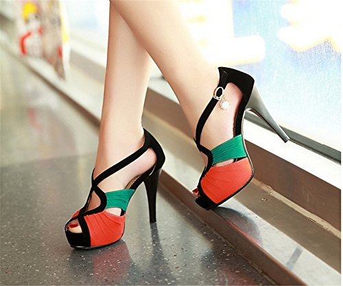 Sandals Fall Spring amp; Party Rhinestone Evening Shoes Wedding Women's Open Comfort Stiletto B Heel Sexy Toe for xfEIp56wpq