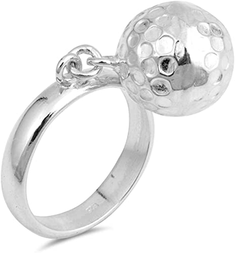 USA Seller Double Ball Ring Sterling Silver 925 Best Deal Jewelry Size 7