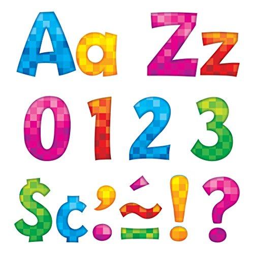 """Inc.  Pixels 4"""" Playful Combo Ready Letters - Trend Enterprises T-79759"""