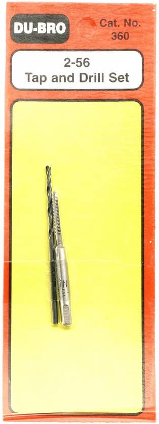 Du-Bro 360 2-56 Tap And Drill Set