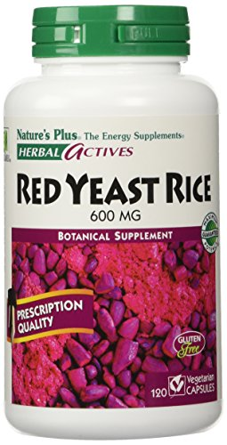 Herbal Actives Red Yeast Rice Nature's Plus 600mg 120 Caps