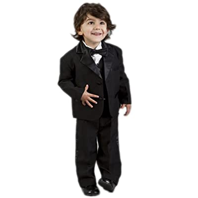 MLT Boy's 3 Pieces Custom Made Party Prom Wedding Suit Set