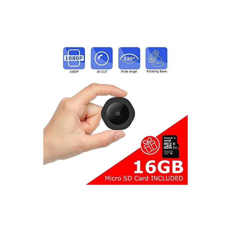 Mini Spy Hidden Camera, Vaculim 1080P Po