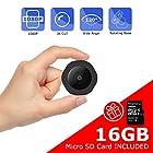 Mini Spy Hidden Camera, Vaculim 1080P Portable Small HD Nanny Cam with 16GB