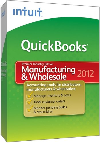 QuickBooks Premier Manufacturing & Wholesale 2012 [OLD VERSION]