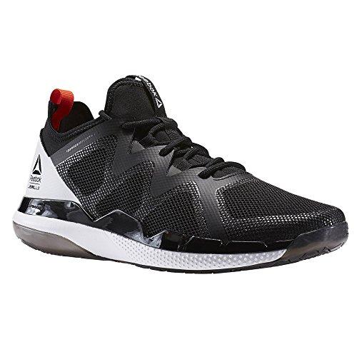 Reebok Mens Sneakers Da Ginnastica Nere Misura Scarpe Nuove 7.5