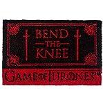 Pyramid International Game Of Thrones Bend The Knee Door Mat For Sale