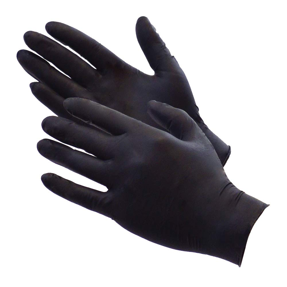 Trident T845151 Nitrile Finger Textured Glove Supermax BOX73998