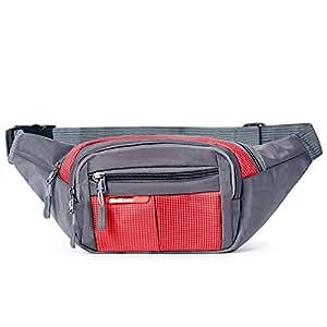 ZHANGRONG- Bolsillos Calzado de exterior Bolso multifunción para hombres y mujeres Bolsa de la caldera de escalada Paquete de pecho Caja registradora (Varios colores disponibles) ( Color : 5 )