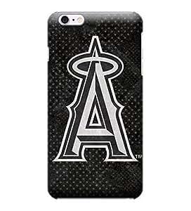 iPhone 6 Plus Case, MLB - Los Angeles Angels Dark Wash - iPhone 6 Plus Case - High Quality PC Case
