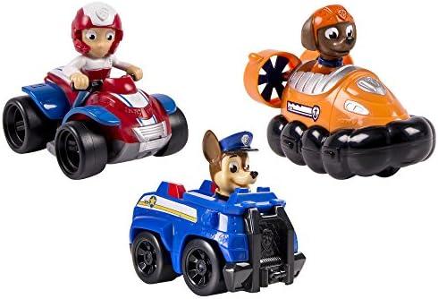 Patrulla Canina - Pack de 3 Vehículos al rescate Chase + Zuma + ...