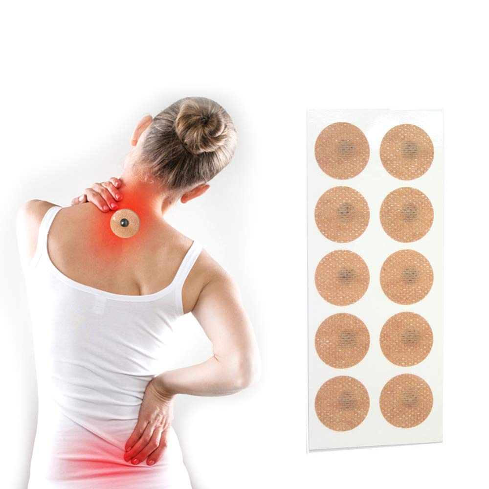 Magnetic Acupressure Patches Pain Relief Body Magnet Muscle Patches Plasters Natural Healing Magnet Therapy by AlexGT (Image #2)