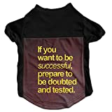 Disaeq Successful Customized Autumn Cat Dog Pet Puppy Short Sleeve T Shirt Pet Clothes Clothing Sweater Tee