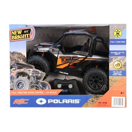 (Full function 1:14 Radio Control Polaris General ATV- Grey)