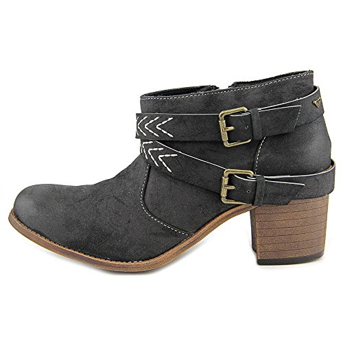Black Boots Ankle Fashion Toe Boots Roxy Womens JANIS Fashion Closed w4zzTq