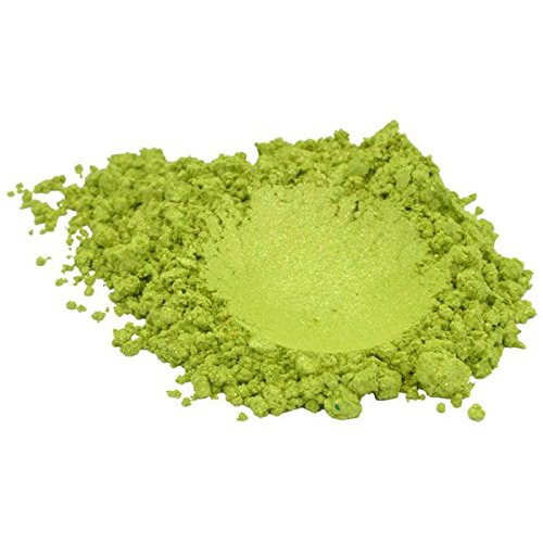 Green Apple Luxury Mica Colorant Pigment Powder Cosmetic Grade Glitter Eyeshadow Effects for Soap Candle Nail Polish 1 oz, 30 g H&B Oils Center Co.