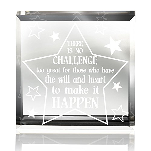 Kate Posh - Make It Happen Keepsake & (Keepsake Glass Paperweight)