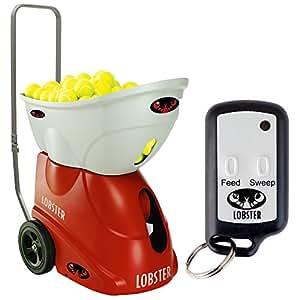 Lobster Sports Elite 1 Portable Tennis Ball Machine (21x14x 20- Inch)