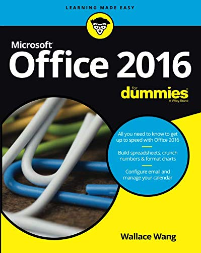 Office 2016 For Dummies Refresh (For Dummies (Computer/Tech))